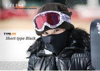 Wholesale Factory price Thermal Neck warmers Fleece Balaclavas CS Hat Headgear Winter Skiing Ear Windproof Warm Face Mask Motorcycle Bicycle Scarf
