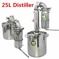 Wholesale 25L Distiller Bar Household facilities wine limbeck distilled water baijiu large capacity vodka maker brew alcohol whisky