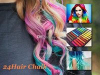 Wholesale Fashion New Colors Fashion Hot Fast Non toxic Temporary Pastel Hair care Dye Color Chalk