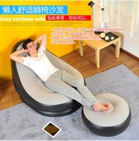 Wholesale for the sitting room sofa armchair inflatable sofa bed sheet a lazy leisure chair cushion stool