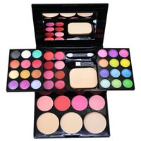 Wholesale 24 full Colors Neutral Eye Shadow EyeShadow colorful Fashion Makeup Palette Powder Box