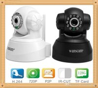 Wholesale Original wanscam HW0040 P Megapixel H P2P Support G TF Card Mini IP Camera with Onvif Wifi Wireless cctv Camera