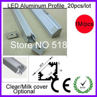 alu case - MOQ alu case for degree LED bar light led profile Accent lightings extrusion