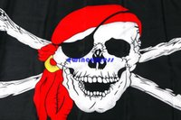 Wholesale 10pcs Halloween Decoration cm Pirate Flag Jolly Roger Hanging With Grommet Halloween cospaly costumes Party props