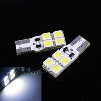 Wholesale 2PCS High Power CANBUS W lm T10 SMD LED White Light Decoding Car Lamps parking
