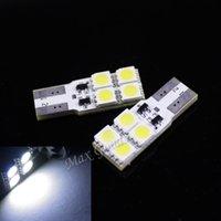 Wholesale 2PCS High Power CANBUS W lm T10 SMD LED White Light Decoding Car Lamps parking