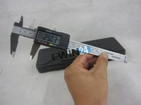 Wholesale New and high quality Electronic mm quot Digital LCD Steel Vernier Caliper Gauge Micrometer Tool Ruler