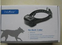 Wholesale 1Set New No Bark Collar Anti Bark Dog Shock Collar Waterproof Tranining Collars for Dogs