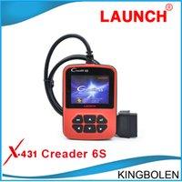 better posts - 100 Original Launch Creader s creader6s OBD2 Code reader Color screen better than CReader VI update online DHL Post