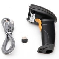 Wholesale New Wireless Bluetooth Barcode Scanner Code Reader USB handheld Code Reader For Iphone IOS Android Windows