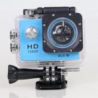 Wholesale WiFi Original SJ4000 W8 Action Cameras P Full HD DV Sport Camera With Extreme Diving M Waterproof Helmet Cam