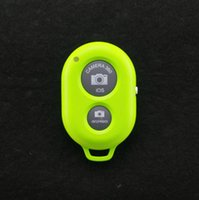 Wholesale camera Bluetooth Remote Control Shutter Monopod Self timer for iphone s ipad samsung Galaxy S4 s5 note htc with retail box