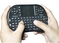 Wholesale 2 GHz Wireless m Operation Range USB Interface Both Hands Orientation Portable Wifi Air Mouse Keyboard Combo
