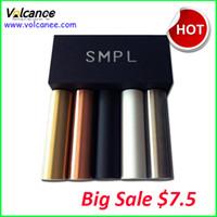 Wholesale Authentic SMPL Mod Mech Mod Red Copper SMPL Mechanical Mod Ecig fit for RDA Atomizer Battery E Cig Mod