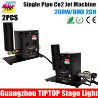 Wholesale Single Tube CO2 Machine Jet Effect Stage Lighting co2 shooting effect DMX512 CO2 Jet Machine One Tube Co2 Jet V