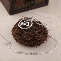 band groups - 2016 Rock band linkin park necklaces silvering group logo pendants necklace for fans link chain fashion jewelry ZJ