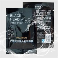Wholesale PILATEN Comedones Strip Blackhead Suction Mask Face Mask Cleaning TearingDeep Cleansing Nose Acne Blackhead Facial Mask Removal Black Head
