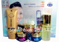 abc cleaners - new liang bang su Whitening cream acne freckle Set Clean ser ml ABC cream g Lotion ml