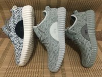 Cheap Fashion Pirate Black Yeezy 350 Boost Shoes Unisex 2016 milan Originals Kanye West Yeezys Sneakers Boots Shoe with Box Discounts Runing Shoes