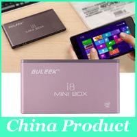 Wholesale Windows GB GB Mini PC TV Box Bluetooth WiFi P Quad Core Miracast GULEEK i8 Intelligent Media Player
