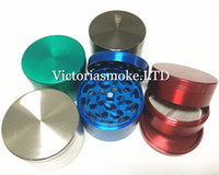 Wholesale Sharp Stone herb metal grinder SharpStone parts Hard top tobacco Grinders Diameter mm colors grinder tobacco