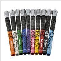 Wholesale Golf Pride Golf grips For Golf Driver Grips or Golf Irons Grips new model golf clubs golf rubbers colors Mix Color