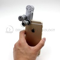 microscope for eye - Universal Mini Pocket Max X Zoom Digital Camera Microscope Lens Eye Set for Students Iphone S Samsuang S5 NOTE Smart phone