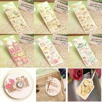 bathrooms ideas - 6 packs of vintage paper stickers layered D cardstock stickers idea for scrapbook cardmaking diy photo album