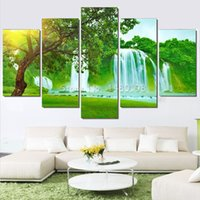 Wholesale Diamond Painting Embroidery Kit Pictures of Rhinestones Multi Picture Combination Triptych Home Decoration FMMP