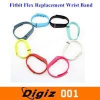 Wholesale LARGE L Small S Replacement Wrist Band w Clasp Fitbit Flex Bracelet No Tracker