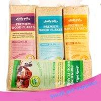 Wholesale Hamster rabbit guinea pig totoro pets premium wood flakes supplies Kg