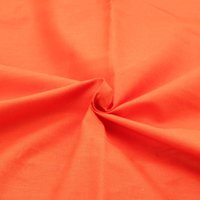 acrylic sheets color - New Orange Color Cotton Fabric Quilting Material Sewing Fabrics For Home Decoration Cloth Bedding Sheet CM A1