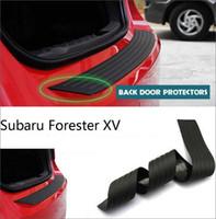 Wholesale Rear Back Door Sill Scuff Plate Bumper Protector For Subaru Forester XV Rubber Factory