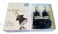 10sets Super Bright 6000K Xenon Blanc 80w High Power led phare H4 / H7 / H11 LED Ampoules à phare 8000LM