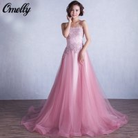 Wholesale Petal Power Evening Dresses Hot Pink Celebrity Evening Dresses Applique Major Beading Evening Dresses Formal Prom Gowns