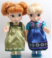 Wholesale 2015 NEW inch IC frozen doll with box Elsa anna with music baby doll action figures mucical frozen dolls