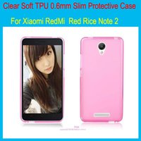 white rice - New Soft TPU protective Case cover For Xiaomi RedMi Note Redmi Note Red Rice Note2 inch Phone case