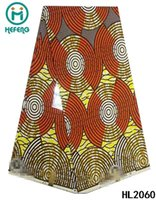cotton fabric cloth - 2015 New Design African Real Wax Fabric Print Cotton V Wax Fabric For cloth wax HL2060