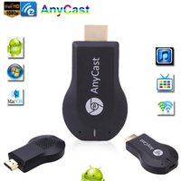 Stick de TV HDMI 1080P WiFi Pantalla Dongle receptor miracast Anycast DLNA Airplay Airmirror Fácil uso compartido TV Dongle para HDTV Mini M2 Plus