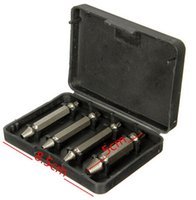 Wholesale New Arrive Screw Extractor Drill Bits Guide Set Broken Bolt Remover Easy Out Set cm Long