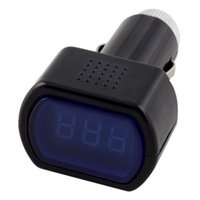 Wholesale Practical LCD Cigarette Lighter Voltage Digital Panel Meter Volt Voltmeter Monitor