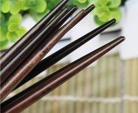 Wholesale Flat head pointed nails chopsticks is senior antiskid creative wooden chopsticks Wedding gift
