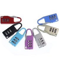 Wholesale Feitong Colorful Travel Digit Code Safe Combination Luggage Lock Padlock Suitcase Lock Wholesales