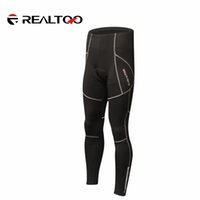 Wholesale Men Cycling Clothing Protective Hip Pad Padded Winter Warm Fleece Long Pants Sportswear Bicycle Bike Outdoor Thermal Trousers