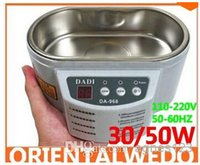 Wholesale original DADI DA V or V Stainless Steel Dual W W Ultrasonic Cleaner With Display Ultrasonic Cleaning Machine Free