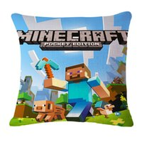 pillow cover - minecraft newest pillow cases minecraft steve creeper enderman pillow covers minecraft halloween sofa cushions home decorations