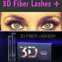 waterproof mascara - 2015 New Arrival Moodstruck D Fiber Lashes plus Mascara Black color High quality Waterproof Long Lashes Mascara set