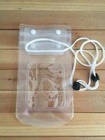 venda por atacado waterproof bag for mobile phone-2015 Venda quente Sob Celular Transparente Waterproof Underwater Bag Bolsa seco da tampa do caso para o telefone móvel