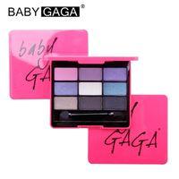 baby cosmetic - 2015 New colors Eyeshadow Palette Baby Gaga Dazzling Diamond eyeshadow Professional beauty nude eyeshadow palette cosmetics makeup tools