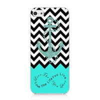 anchor cases - Anchor Chevron Retro Vintage Tribal Nebula Hard Mobile Phone Case Cover For iPhone S S C Plus